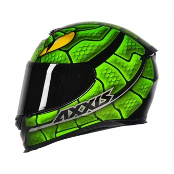 Capacete Axxis Eagle Snake - Gloss Preto   Verde ... c5d3166b6ca